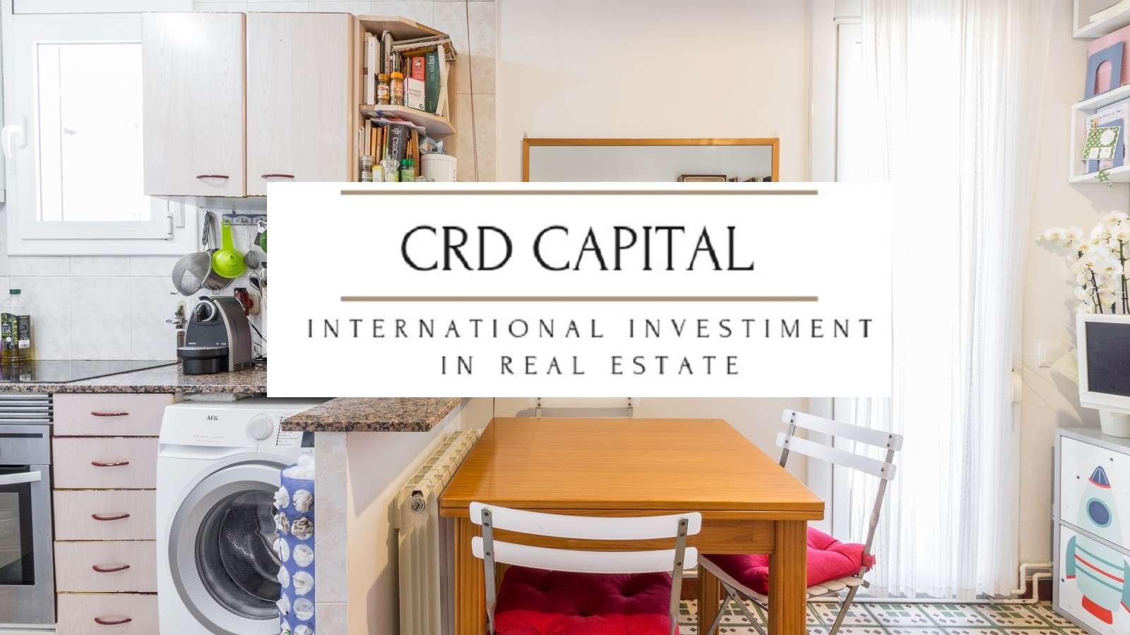 Appartamento A Barcellona Sants | CRD CAPITAL